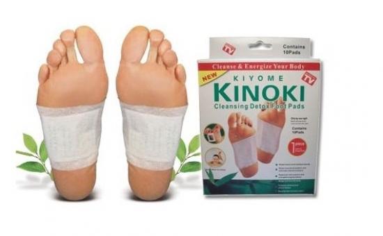 Set 50 plasturi Kinoki