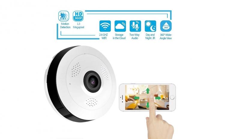Mini Camera Ip 360 de grade