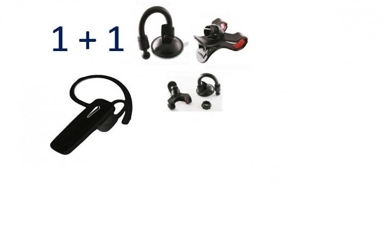 Set suport telefon + Casca Bluetooth