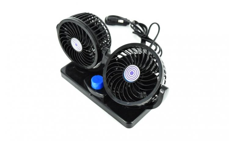 Ventilator auto dublu
