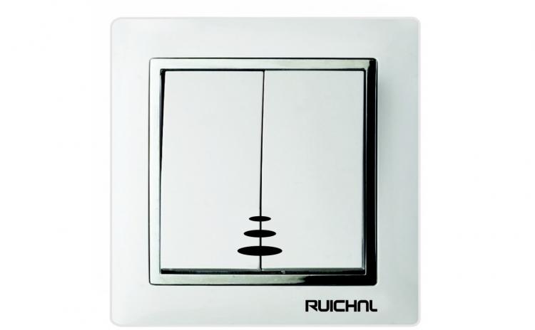 Intrerupator dublu cu LED Ruichnl RC-360