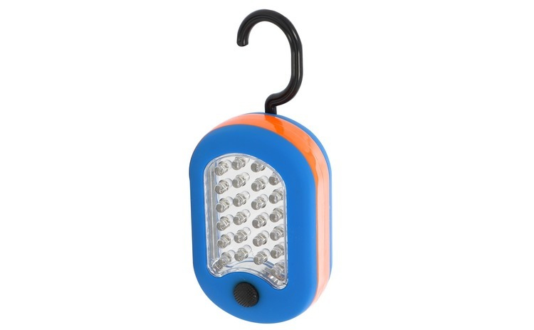 Lampa de lucru 24+3 LED Hoff, 1.5 W, cu
