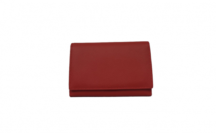 Portofel din piele naturala Z001-6 RED
