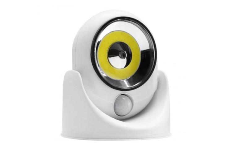 Lampa fara fir cu LED si senzor de misca