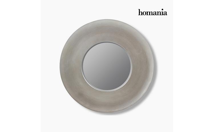 Oglinda Rasina sintetica Sticla bizotata Argintiu (108 x 8 x 108 cm) by Homania