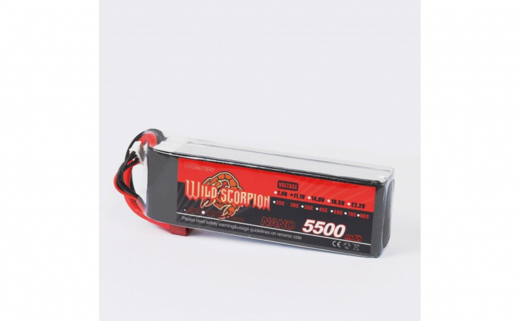 Acumulator Li-Po Wild Scorpion 5500mAh