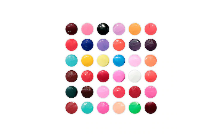 Set 36 geluri colorate Coco Color Gel