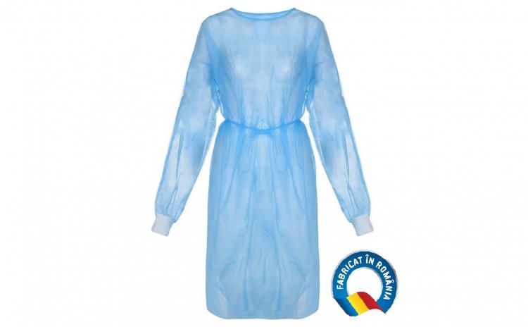 Halat medical albastru 40gr/mp