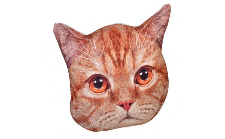 Perna decorativa  model cap de pisica