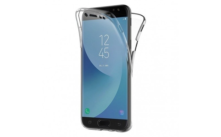 Husa Samsung J5 2017 Flippy Full Tpu 360 Negru