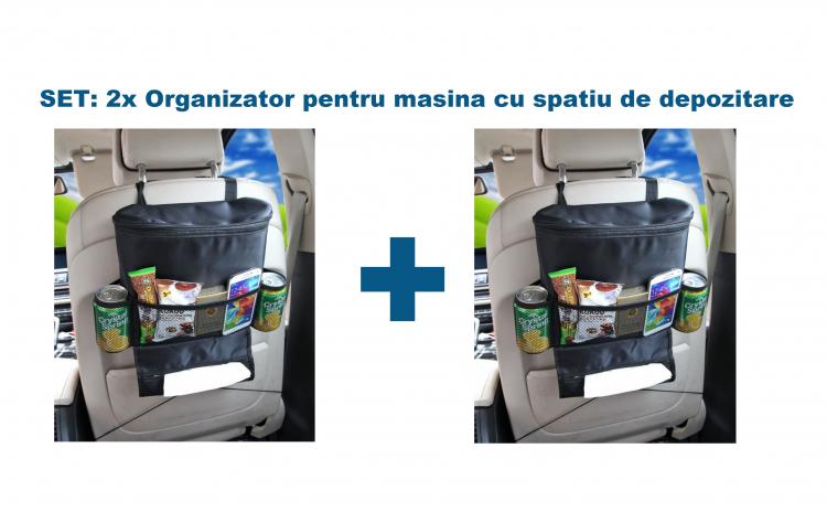 Set: 2x Organizator pentru masina