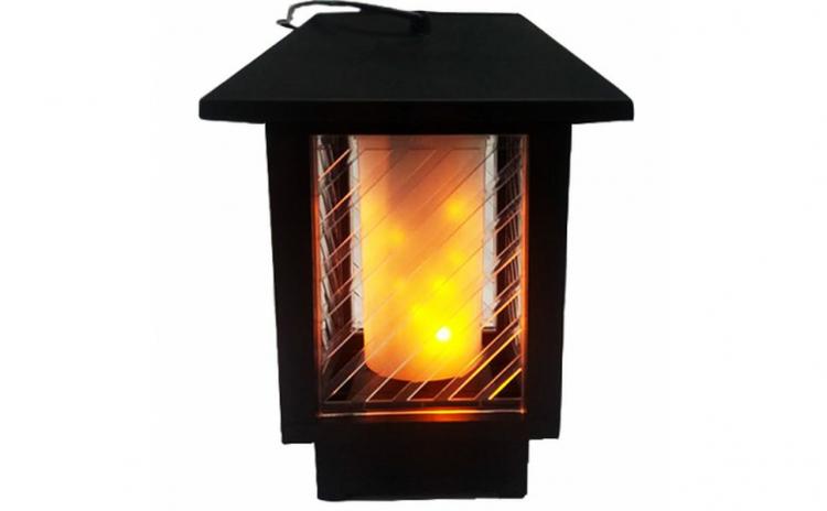 Felinar-Lampa Solara LED efect flacara