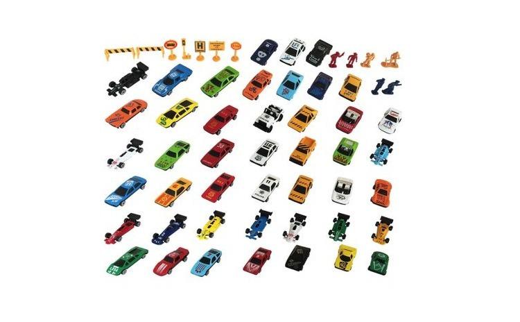 Set 58 masinute si accesorii