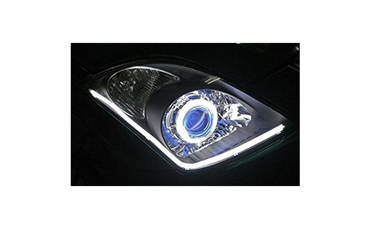 Banda flexibila LED DRL lumina alba 30cm