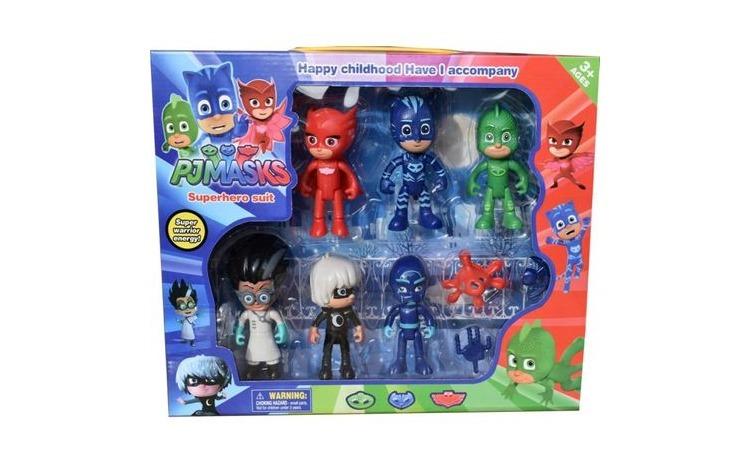 Set 6 figurine Eroii in Pijama