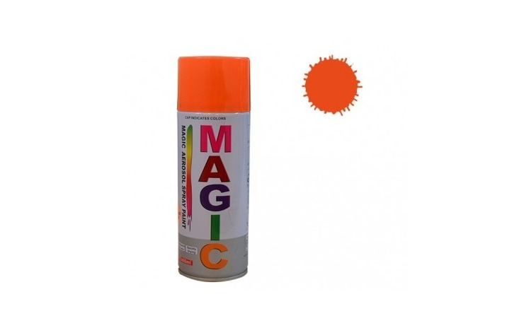 Vopsea spray magic portocaliu