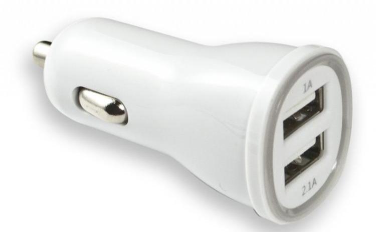 Incarcator auto dublu USB