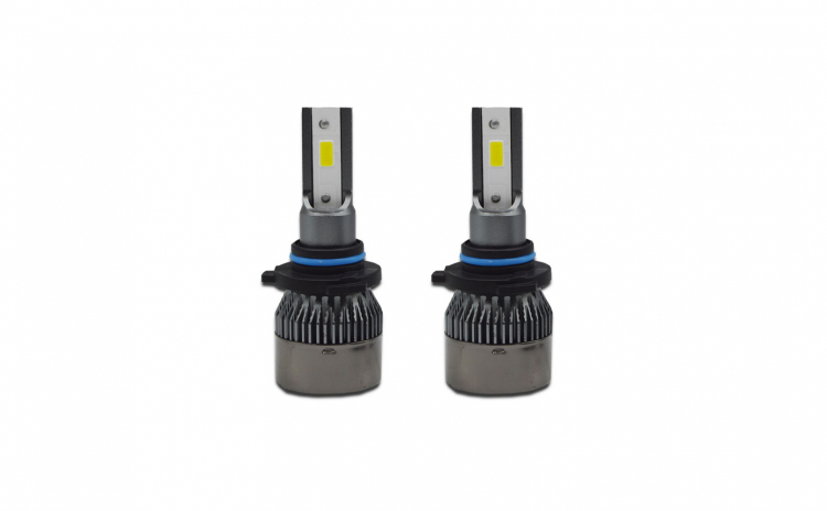 Set 2 becuri LED auto R6, 80W, 4000Lm