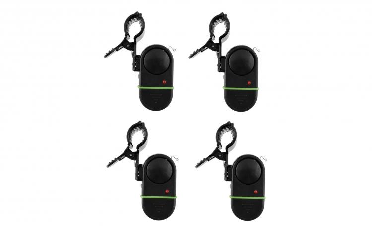 Set 4 senzori cu prindere pe lanseta + Cadou un set de 10 ace pentru pescuit