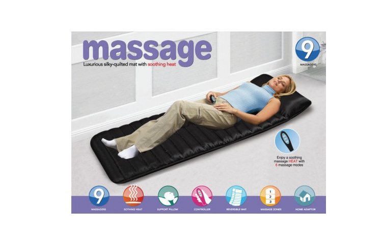 Saltea masaj cu telecomanda