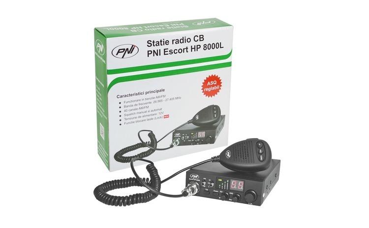 Statie radio PNI Escort HP 8000L cu ASQ