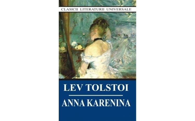 Anna Karenina, autor Lev Tolstoi
