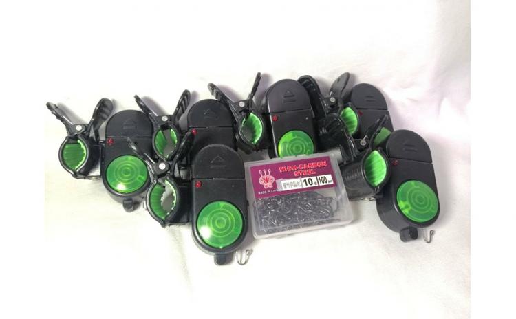 6 senzori pescuit + 100 ace Cadou