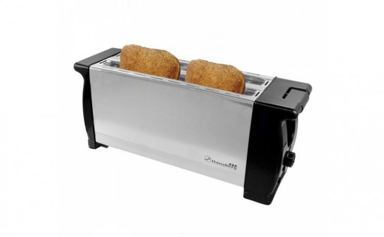 Prepara sandwich-uri delicioase alaturi de cei dragi cu ajutorul toaster-ului pentru 4 felii de paine, cu tava glisanta pentru firimituri, aflat la pretul promotional de doar 92 RON, redus de la 164 RON