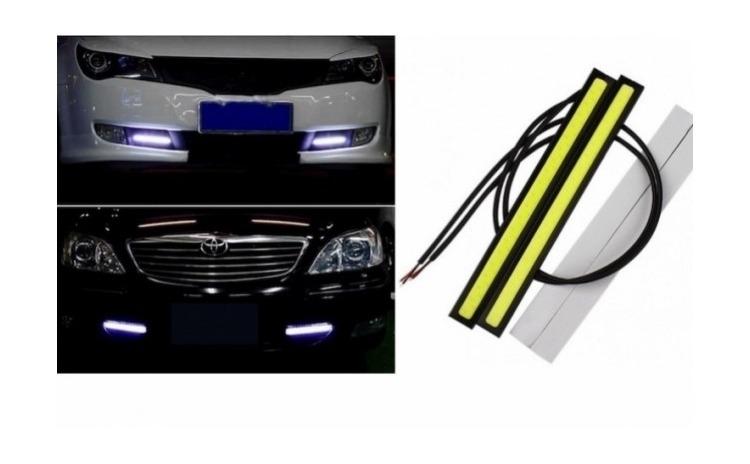 Set 2 benzi LED 6w pentru masina