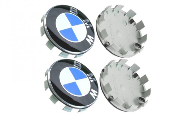 Set 4 capacele pentru roti, 68mm BMW