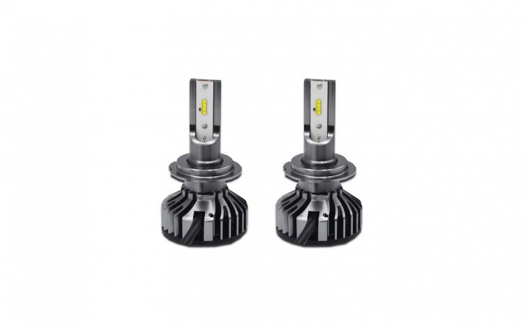 Set 2 becuri LED auto F2 H7, 100W