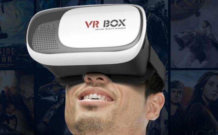 Ochelari Virtuali VR-BOX cu telecomanda