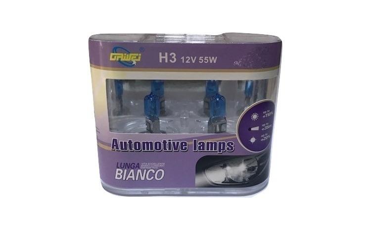 Set 2 Becuri Auto 12V,55W H3 Halogen