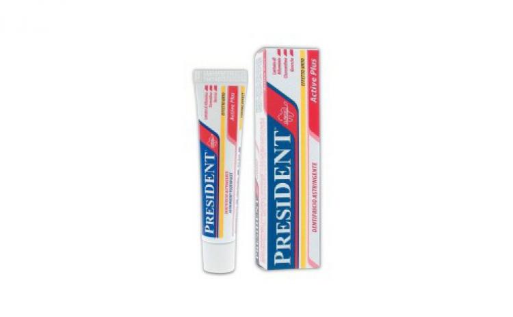 Imagine indisponibila pentru Pasta de dinti President active Plus Strong Efect impotriva parodontozei 30 ml