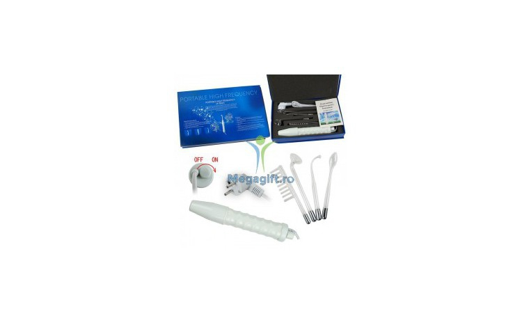 Electroderm Portabil Cu 4 Capete Cosmetica, La Doar 200 Ron In Loc De 400 Ron