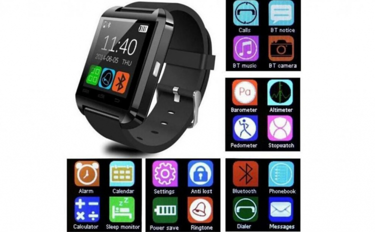 Ceas Bluetooth Smartwatch Compatibil Android Si Ios La Doar 129 Ron In Loc De 700 Ron