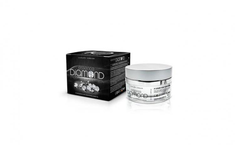 Crema de lux cu diamante - 10 efecte