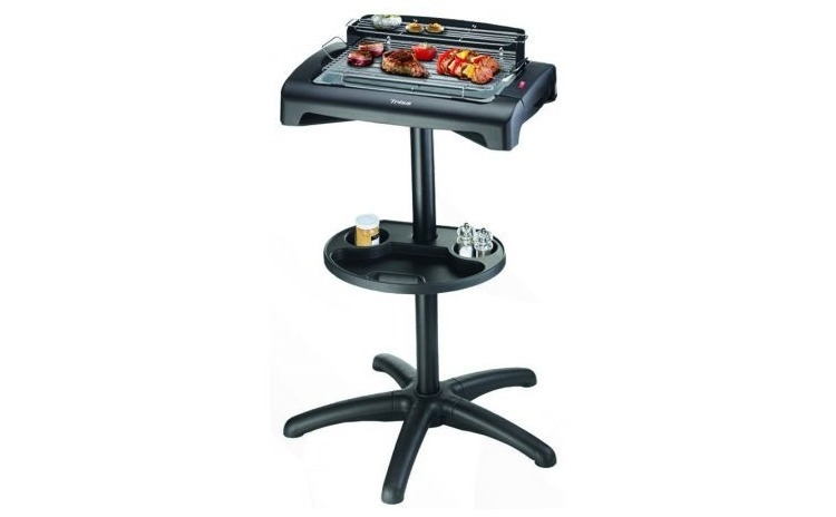 Grill electric Trisa BBQ Classic 7564.42, Putere 1950W, Grill nonaderent, Inaltime 85cm