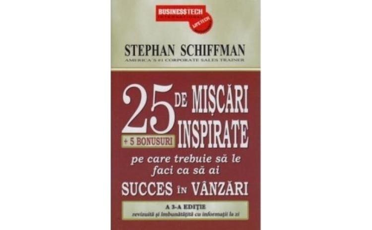 25 de miscari inspirate , autor Stephan Schiffman