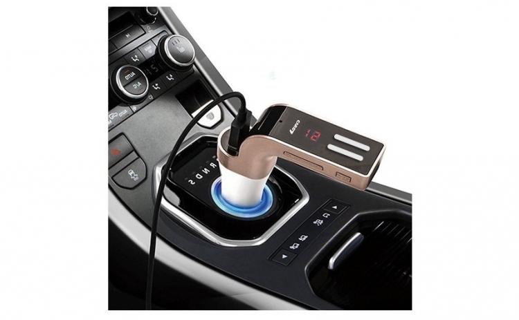 Modulator FM wireless 8in1 cu bluetooth