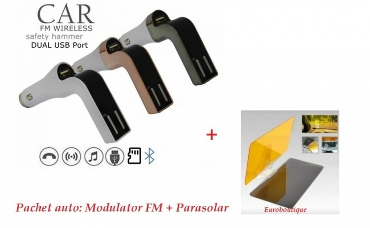 Modulator FM Hands Free +Parasolar