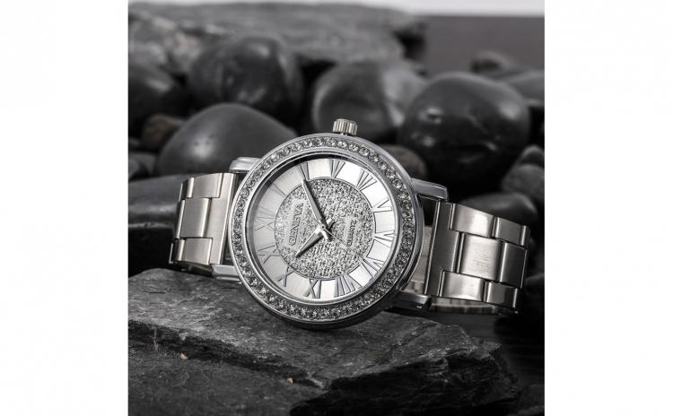 Ceas de dama Geneva Sunna Silver