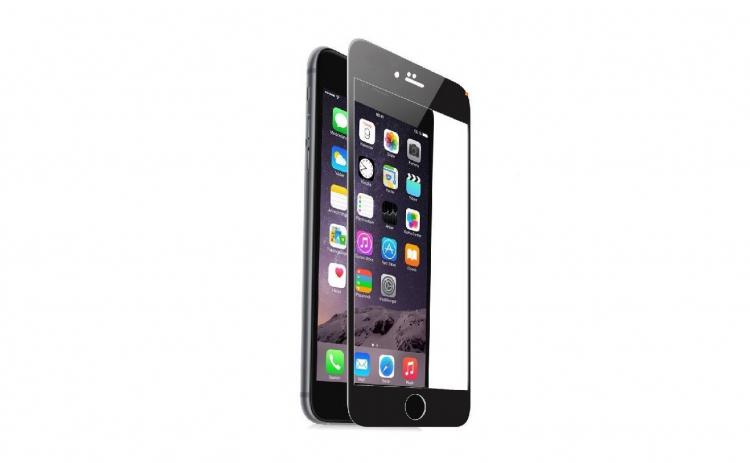Folie sticla securizata Full Glue Iphone7/Iphone 8 Negru pentru protectie ecran