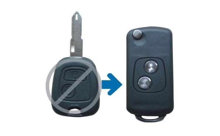 Carcasa telecomanda compatibila Peugeot