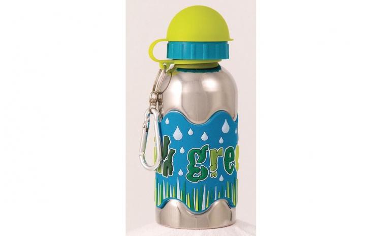 Protejeaza sanatatea copilului tau cu Sticla de apa pentru copii Lets Water Up, material inox , Eco Friendley, 450 ml, usoara , design atractiv, banda antialunecare, la doar 95 RON in loc de 189 RON