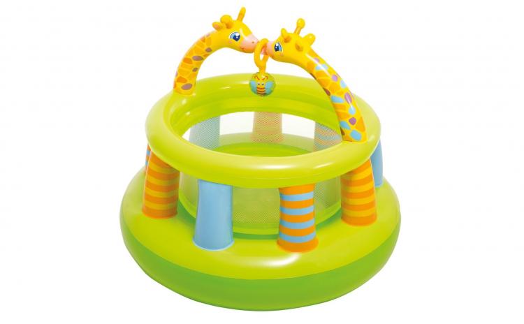 Spatiu de joaca gonflabil Girafe