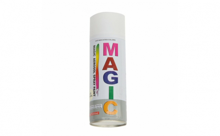 Spray vopsea MAGIC ALB 10 400ml