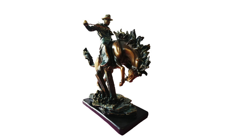 Statueta Cal si Calaret, 39 cm,  964