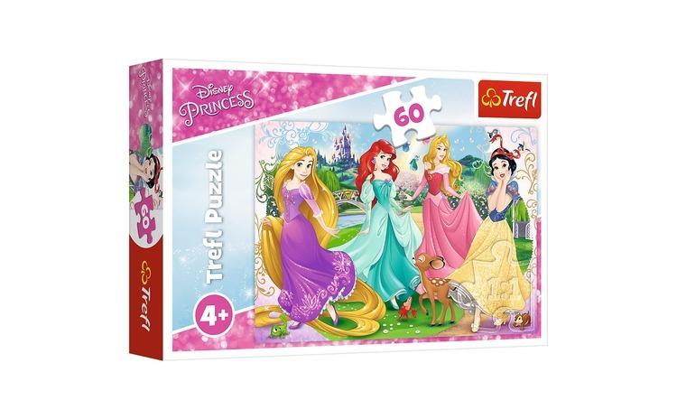 Puzzle trefl 60 frumoasele printese