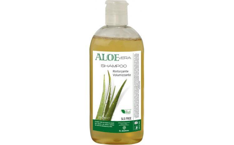 Sampon hidratant BIO cu gel de Aloe Vera, 250 ml La Dispensa